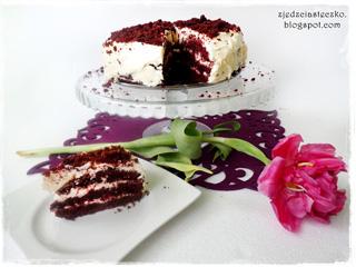 Red Velvet Cake - czyli czerwone ciasto z kremem