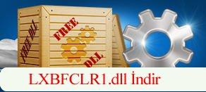 LXBFCLR1.dll Hatası çözümü.
