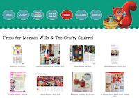 Press for Morgan Wills & The Crafty Squirrel