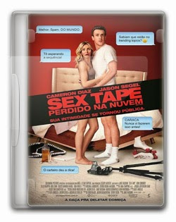 Sex Tape : Perdido na Nuvem   CAM AVI Dual Áudio + RMVB Dublado