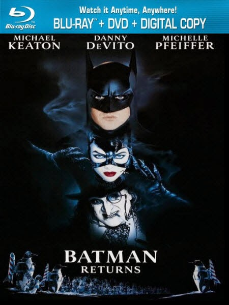 Batman Returns 1992 Hindi Dubbed Dual BRRip 480p 400MB