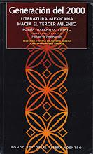 Generación del 2000. Literatura mexicana hacia el tercer milenio