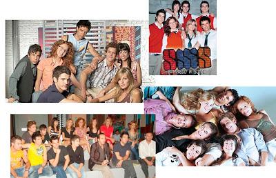Protagonistas de la serie SMS, actores