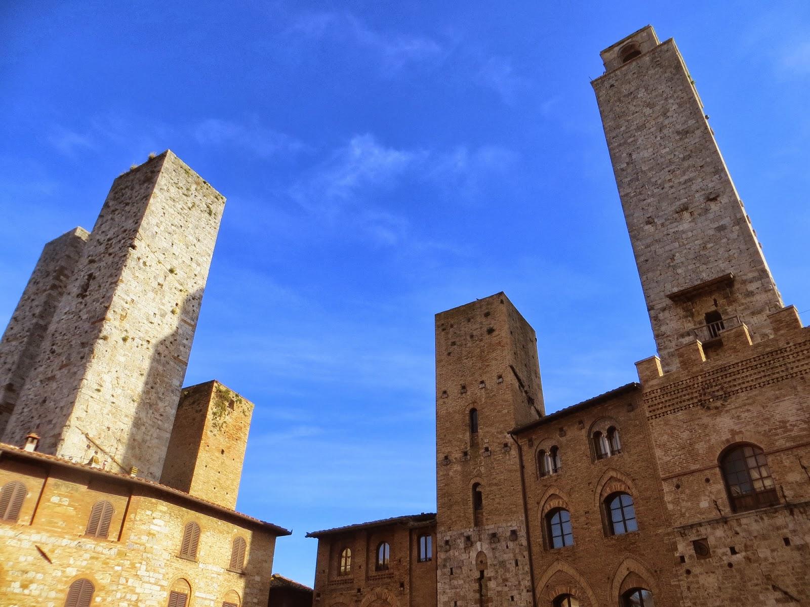 Towers of San Gimignano, Italy