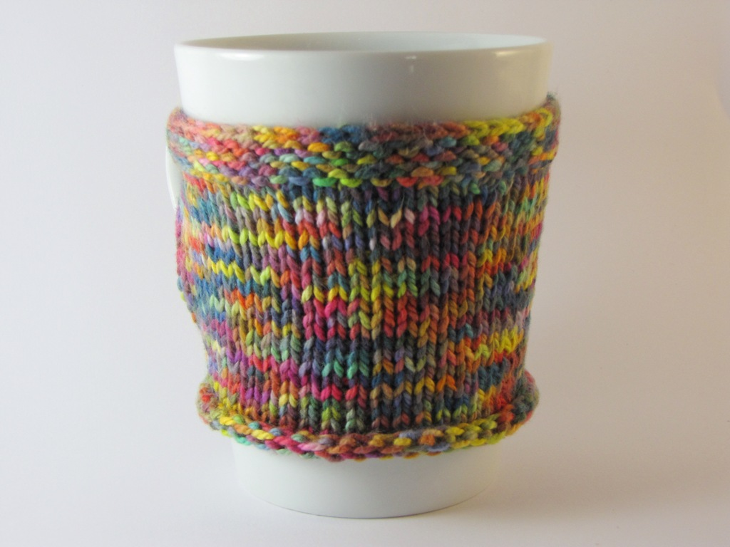 Tea / Coffee Cup Cozy Pattern / Tutorial - Natural Suburbia