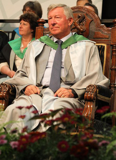 Sir Alex Ferguson Honorary Doctorate University Of Stirling in Pictures