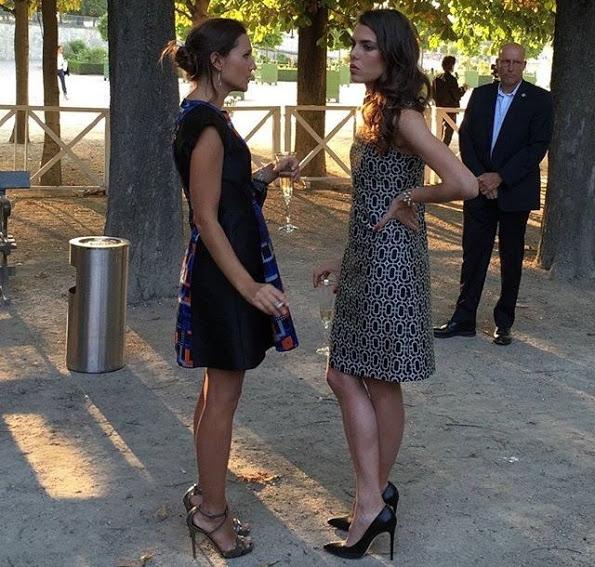 Charlotte Casiraghi At The Montblanc Boheme Event Paris