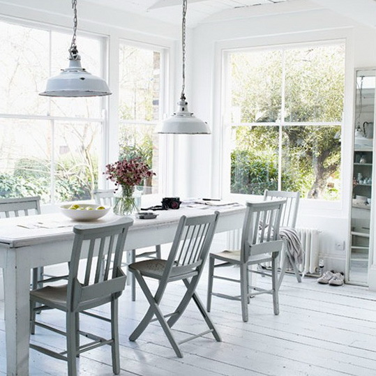 Shabby Chic Kitchen Dinerlugares Para Comer Shabby