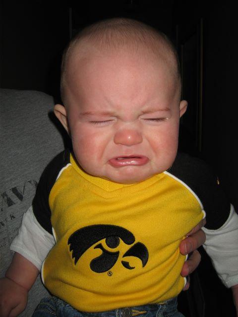 Iowa+Hawkeye+Crying isu commissioner i'd rather blank than lose to the iowa hawkeyes