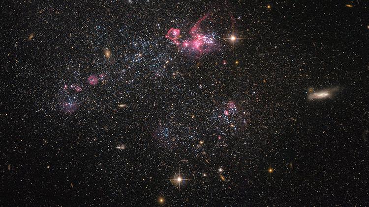 Galaxia que contradice el Modelo Estándar de la Física de Partículas