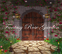 Fantasy Rose Garden digital fantasy backgrounds