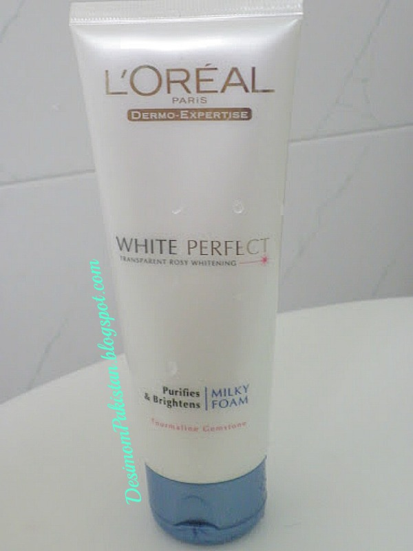 L'OREAL WHITE PERFECT MILKY FOAM