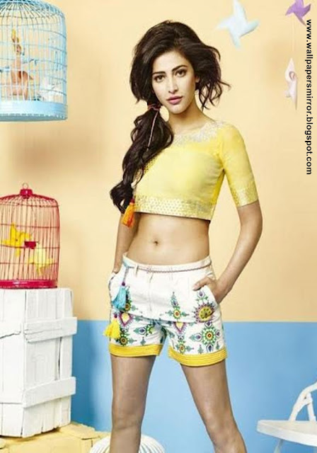Sruthi haasan latest hot photos in srimanthudu
