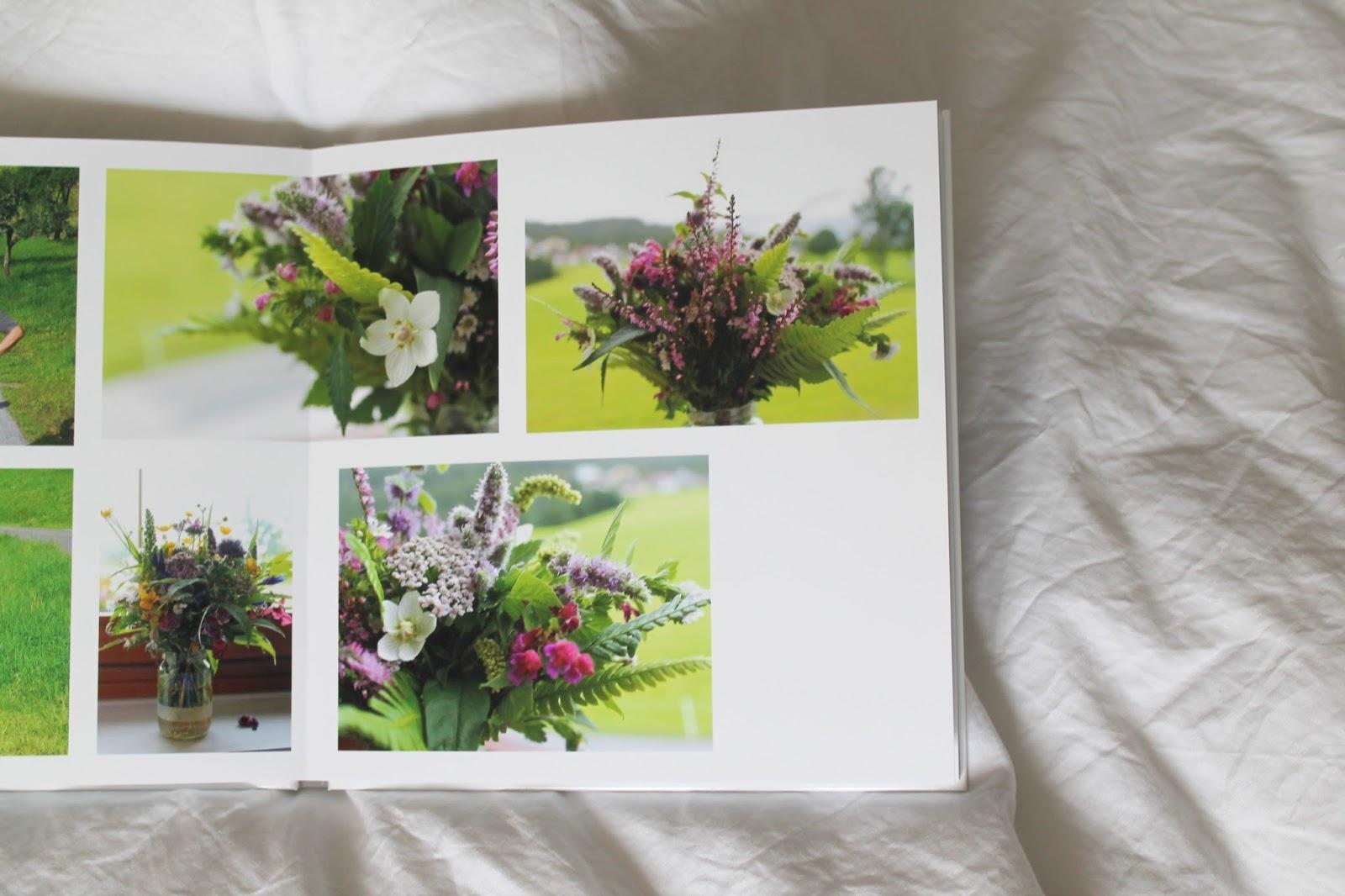 Fotobuch Urlaubserinnerung Wiesenblumen