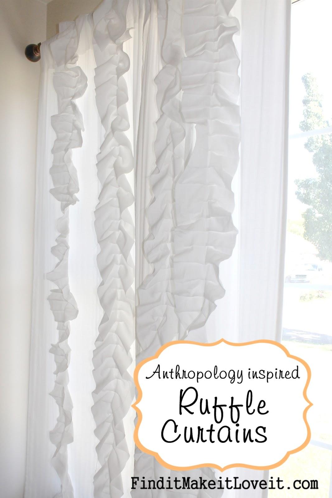 Ruffled curtains tutorial - Ruffle Curtains Tutorial