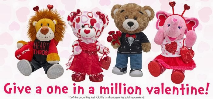 Build a Bear Valentines Day
