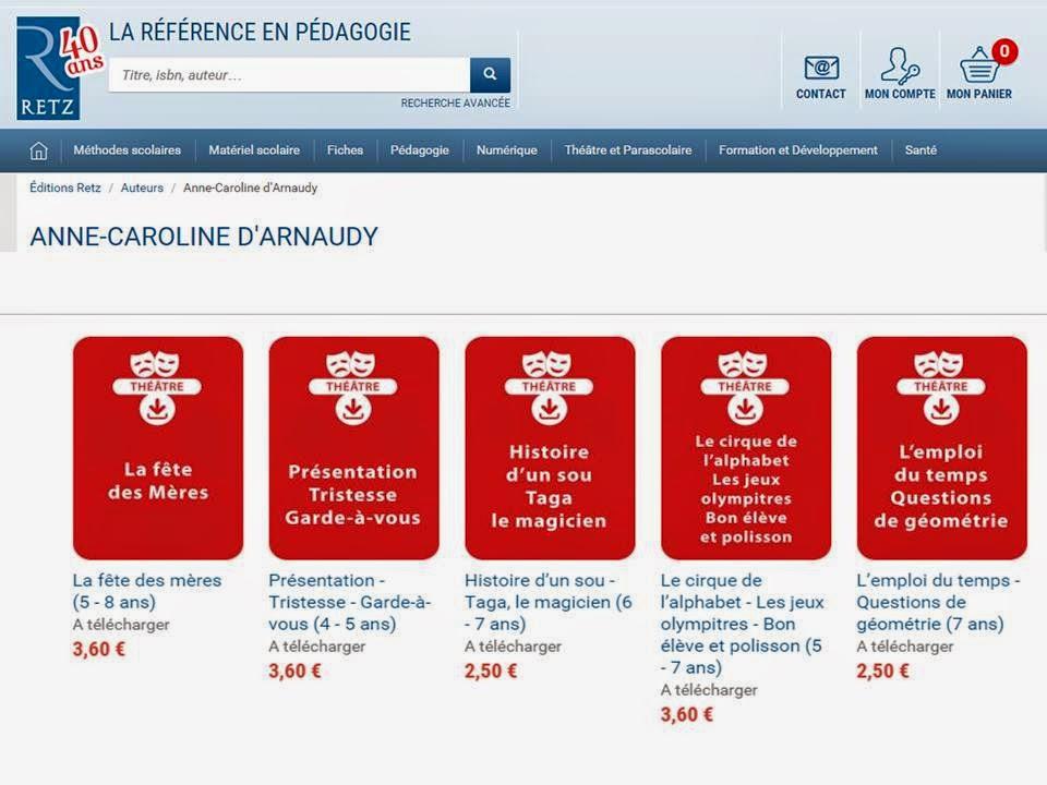 site web retz Anne-Caroline d'Arnaudy
