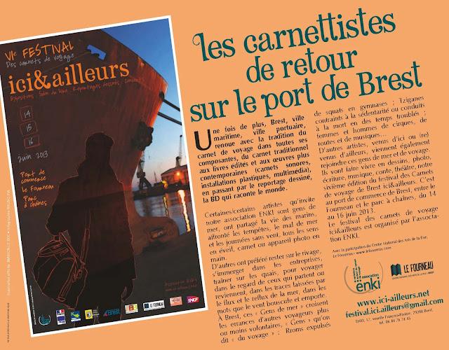 festival Ici et Ailleurs Brest 2013