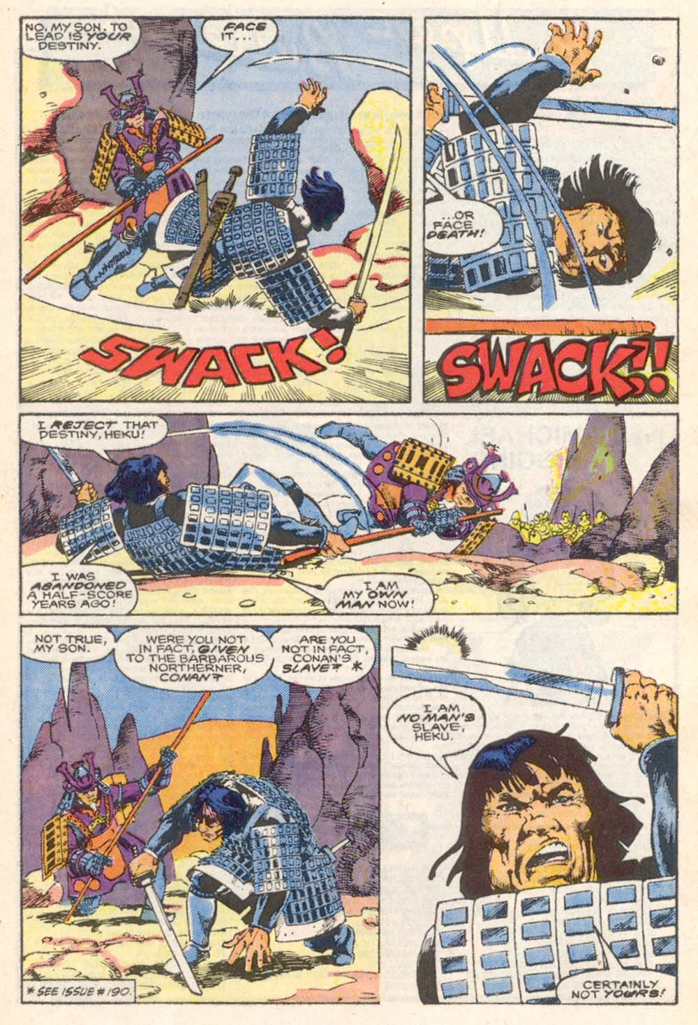 Conan the Barbarian (1970) Issue #206 #218 - English 21
