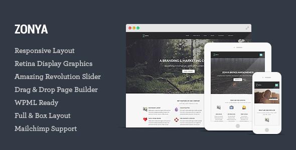 Download ThemeForest Zonya V1.0.8- Multipurpose Responsive WordPress Theme for free.