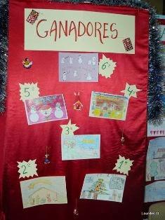 Ampa el morco el ampa en la navidad del colegio - Postales de navidad hechas por ninos ...