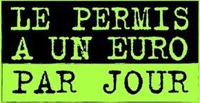 Permis 1€ / Jour