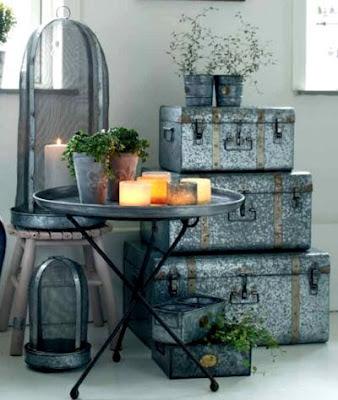 Home Decorista: Decorating with alternative materials
