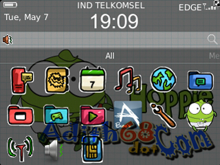 Download Cute Hoppie Themes | Tema Lucu for Blackberry Curve 9220