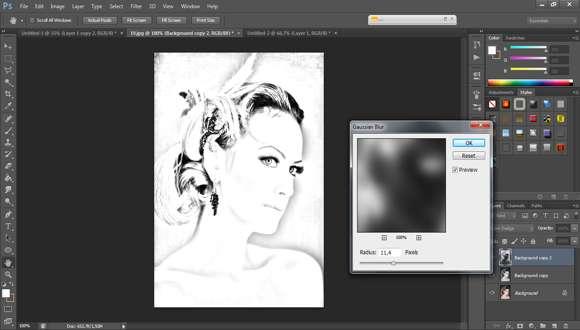 Cara Mudah membuat Gambar Pensil di Photoshop