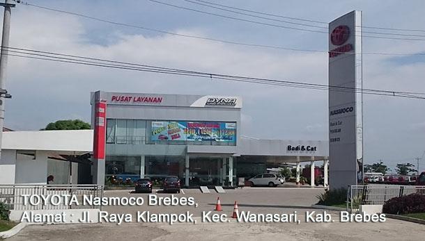 Harga Mobil TOYOTA Nasmoco BREBES, Jawa Tengah