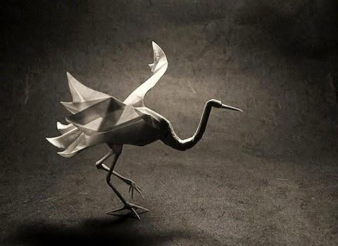 Origami Flamingo Origami Instructions Art And Craft Ideas