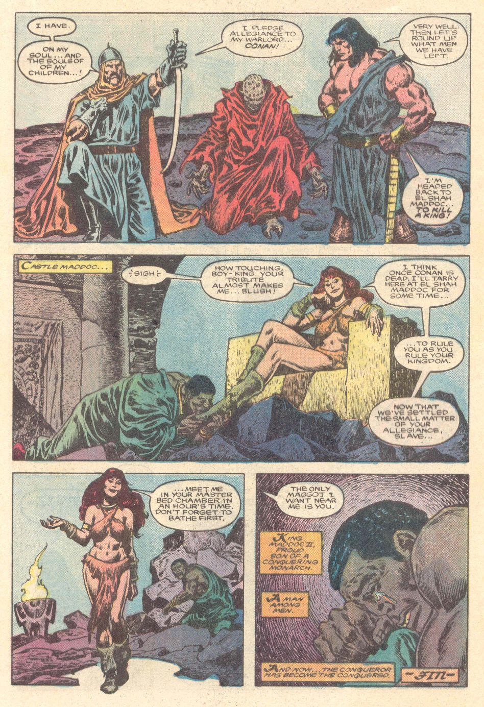 Conan the Barbarian (1970) Issue #183 #195 - English 23