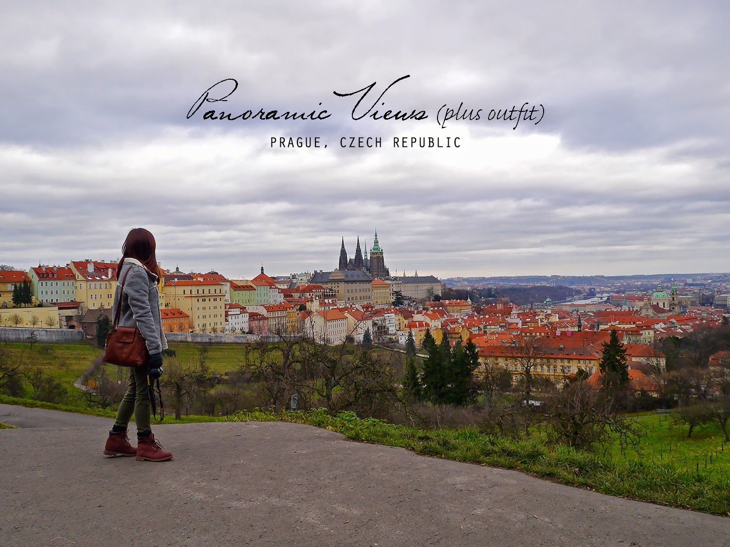 Panoramic Views of Prague