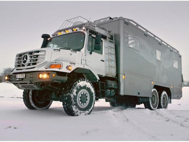 videos de camiones mercedes zetros 6x6 de lujo 1