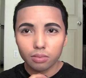 Make up Artist Promise Tamang Phan as Drake