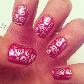 cheeky nail art stamps