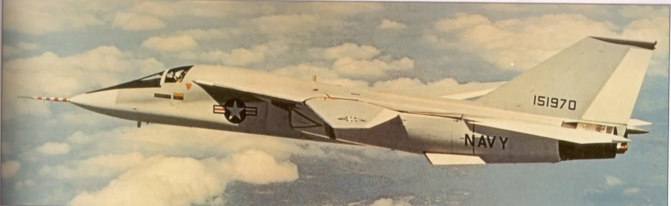 USN F-111B. The TFX program's dead end.