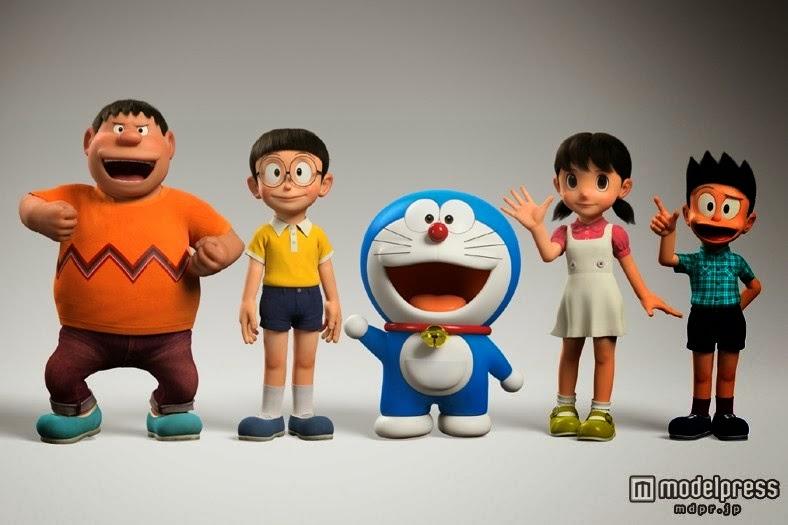 Gambar Film Animasi Doraemon 3D 2014 Nobita Shizuka Gian Suneo