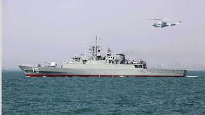 la proxima guerra buque de guerra iran destructor jamaran puertos china