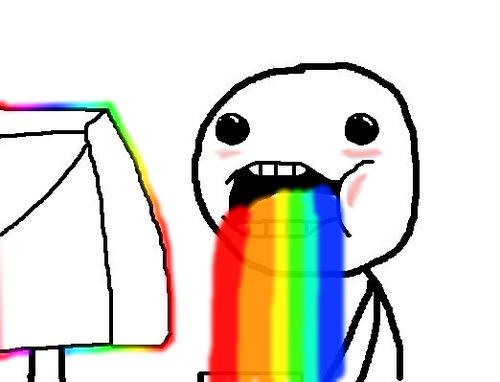 The creeper Meme_rainbow