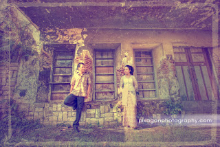Foto pre wedding di Kota Lama, Semarang