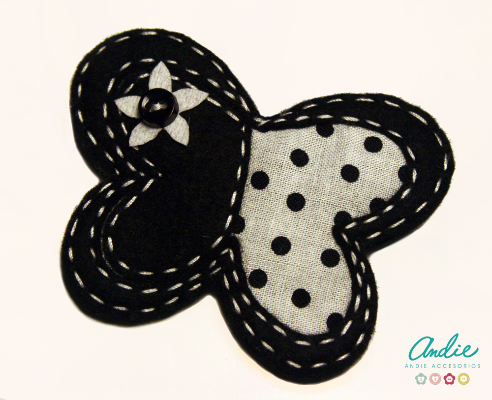 Andie felt buttons accesories novedades broches for Broches de tela originales