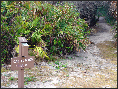 Trails at Canaveral National Seashore