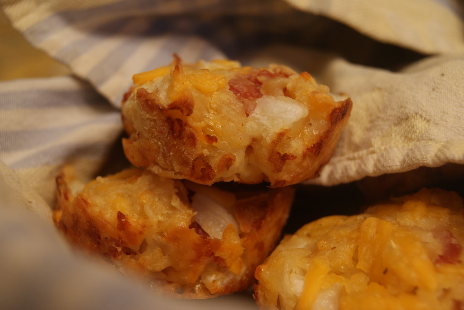 Recipes from a Girl: Bacon Onion Cheddar Biscuits