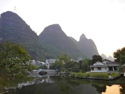 Yangshuo Mountain and Lake China
