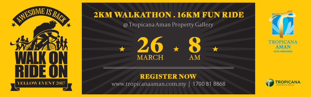 Walk On Ride On Yellow Event 2017