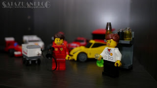 Koleksi Lego Shell Ferrari