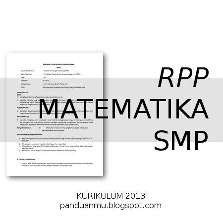 RPP Matematika SMP Kurtilas