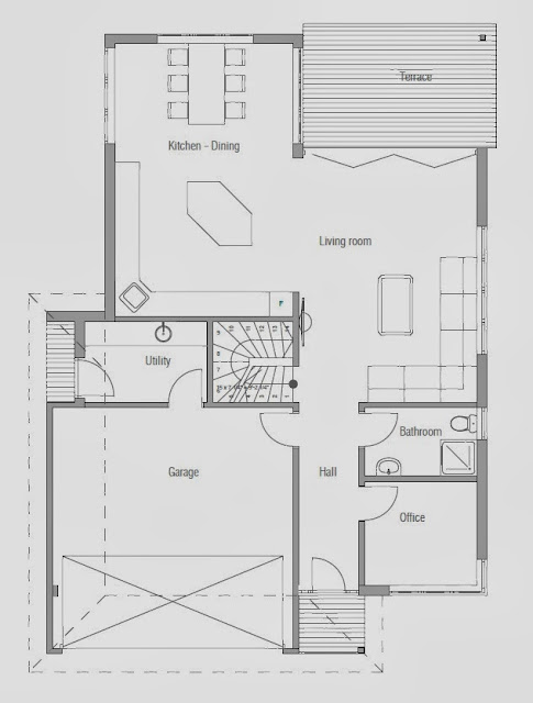 affordable home plans modern affordable home plan ch178