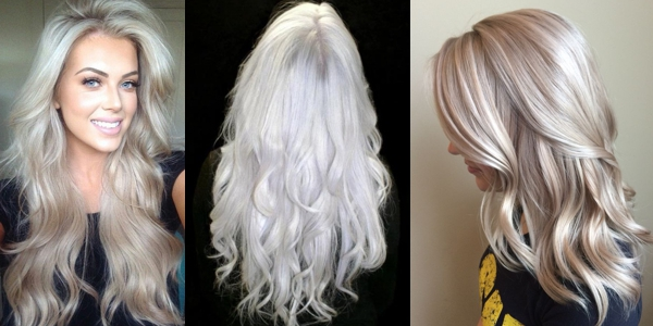 Gorgeous Platinum Hairstyles The Haircut Web